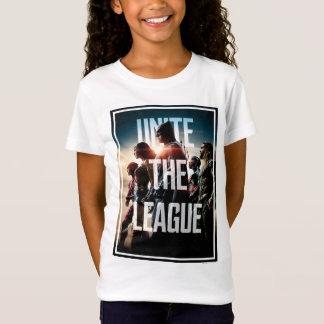 Camiseta A liga de justiça   une a liga