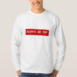 Camiseta A ligação em ponte 5 superior