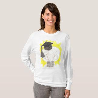 Camiseta A ligação em ponte das mulheres do bulbo do