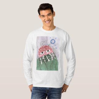 Camiseta A ligação em ponte dos homens do pente das medusa