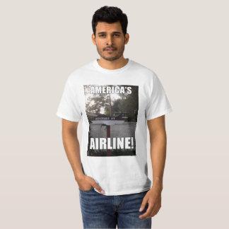 Camiseta A linha aérea de Ar-América deplorável