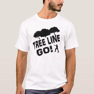 Camiseta A linha de árvore vai!