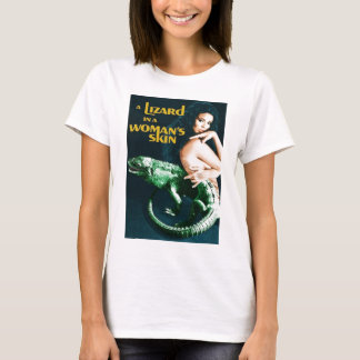 Camiseta A Lizard in a Woman's Skin, vintage horror movie