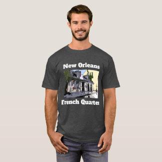 Camiseta A loja de Smith do preto do vintage do bairro