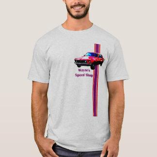 Camiseta a loja spped mustang de wayne