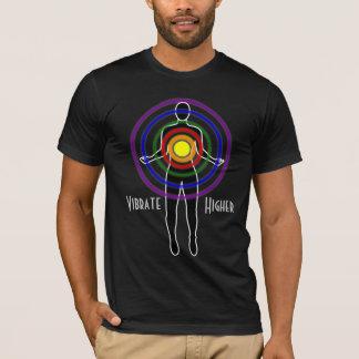 Camiseta A Longo-luva preta T dos homens