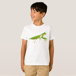 Camiseta A louva-a-deus Praying verde gigante caçoa o