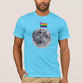 Camiseta A lua é alegre