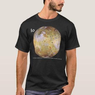 Camiseta A lua Io de Jupiter