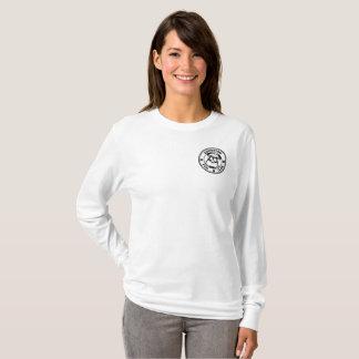 Camiseta A luva longa básica das mulheres