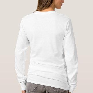 Camiseta A luva longa básica das mulheres de CHDA