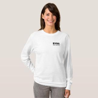 Camiseta A luva longa das mulheres de BVNA