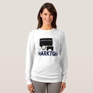 Camiseta A luva longa das mulheres de MarkTGH