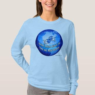 Camiseta A luva longa de umas outras mulheres ateus Godless