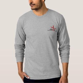 Camiseta A luva longa dos homens de CHDA