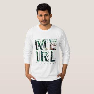 Camiseta A luva longa dos homens de MEIRL