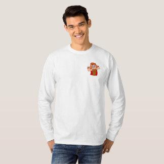 Camiseta A luva longa dos homens HERÓICOS da constelação de