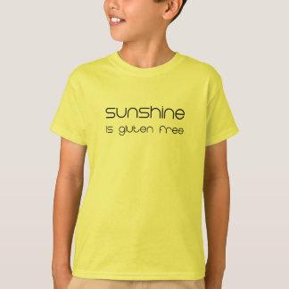 Camiseta A luz do sol é sem glúten