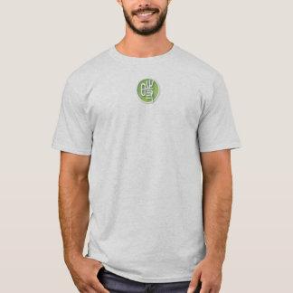 Camiseta A luz dos homens - tshirt cinzento do XL