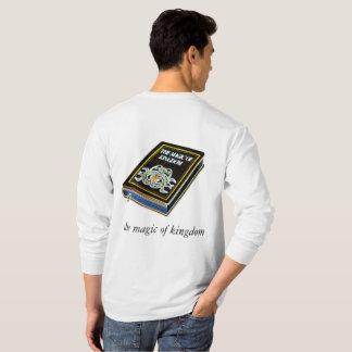 Camiseta a mágica do reino
