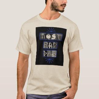 Camiseta A maioria de t-shirt do pai do Rad
