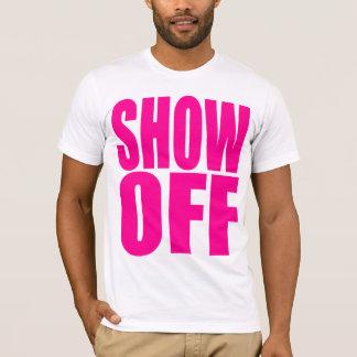 Camiseta A malhação impetuosa mostra fora o Tshirt