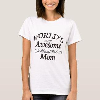 Camiseta A mamã a mais impressionante do mundo