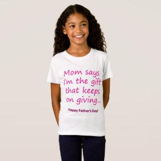 Camiseta A mamã diz