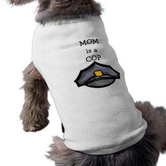 Camiseta A MAMÃ é um t-shirt do cão da BOBINA