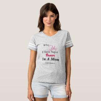 Camiseta A mamã tem poderes super