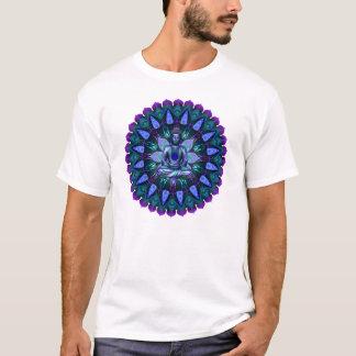 Camiseta A mandala de Buddha da luz da noite