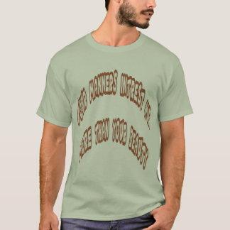 Camiseta a maneira do homem