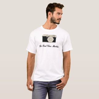 Camiseta A máquina tempo real