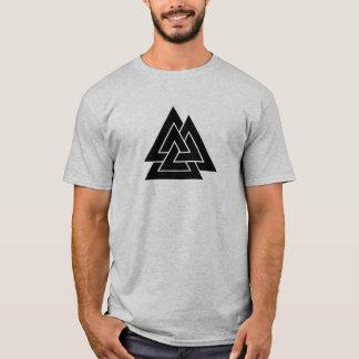 Camiseta A marca de Odin, o Valknut