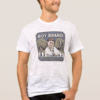 Camiseta A marca do menino desvaneceu-se