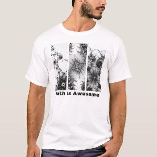 Camiseta A matemática é ø design impressionante do Fractal