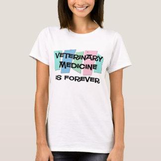 Camiseta A medicina veterinária é Forever