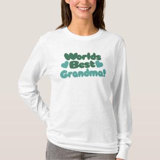 Camiseta A melhor avó dos mundos