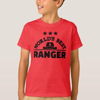 Camiseta A melhor guarda florestal do mundo
