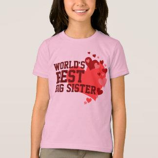 Camiseta A melhor irmã mais velha do mundo