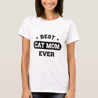 Camiseta A melhor mamã do gato nunca
