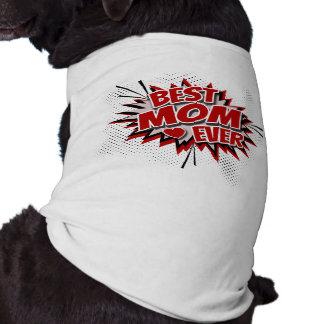 Camiseta A melhor mamã nunca
