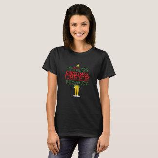 Camiseta A melhor maneira de espalhar o elogio do Natal