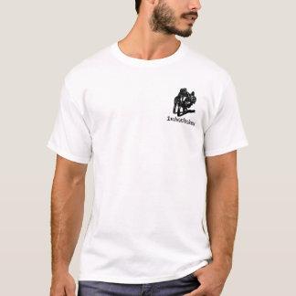 Camiseta A menina caiu a construção do tshirt de Sreetbike