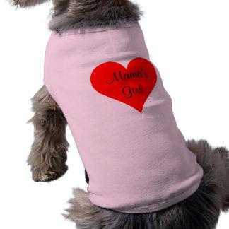 Camiseta A Menina Costume Personalized do Mama
