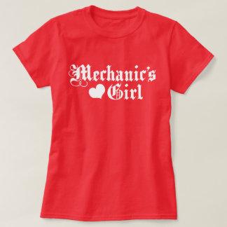 Camiseta A menina do mecânico
