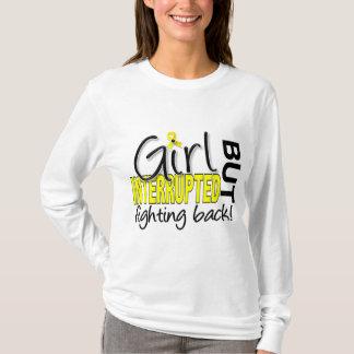 Camiseta A menina interrompeu a endometriose 2