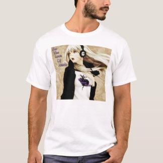 Camiseta A menina loura do Anime do assassinato de veludo