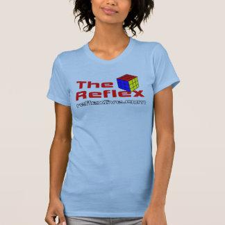 Camiseta A menina reflexo