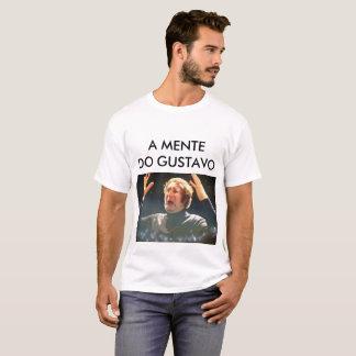 Camiseta A mente do Gustavo